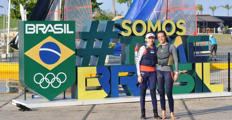 Ludmila Lira e Júlia Olivier